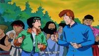 Street Fighter cameos in Yu Yu Hakusho image #6
