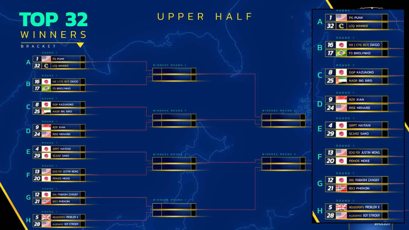 Capcom Cup 2017 bracket 1 out of 2 image gallery