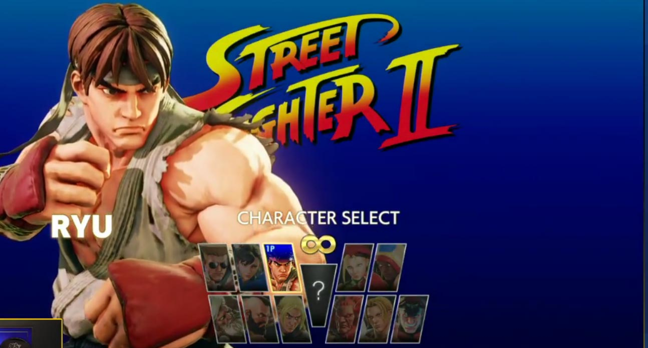 Street Fighter 5 Arcade Mode character select screens 2 out of 4 image gallery