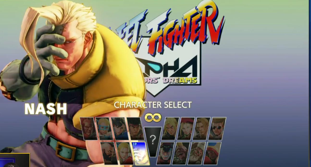 Street Fighter 5 Arcade Mode character select screens 3 out of 4 image gallery