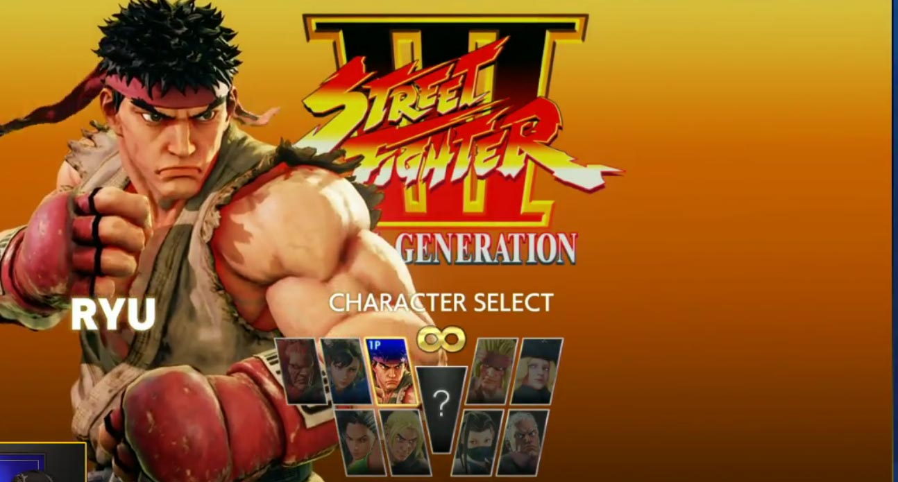 Street Fighter 5 Arcade Mode character select screens 4 out of 4 image gallery