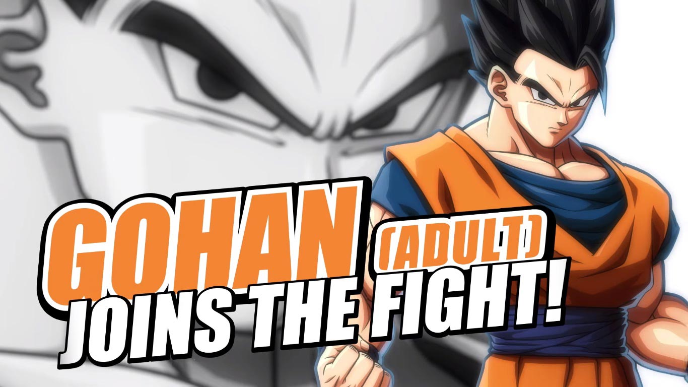 Adult Gohan in Dragon Ball FighterZ 3 out of 6 image gallery