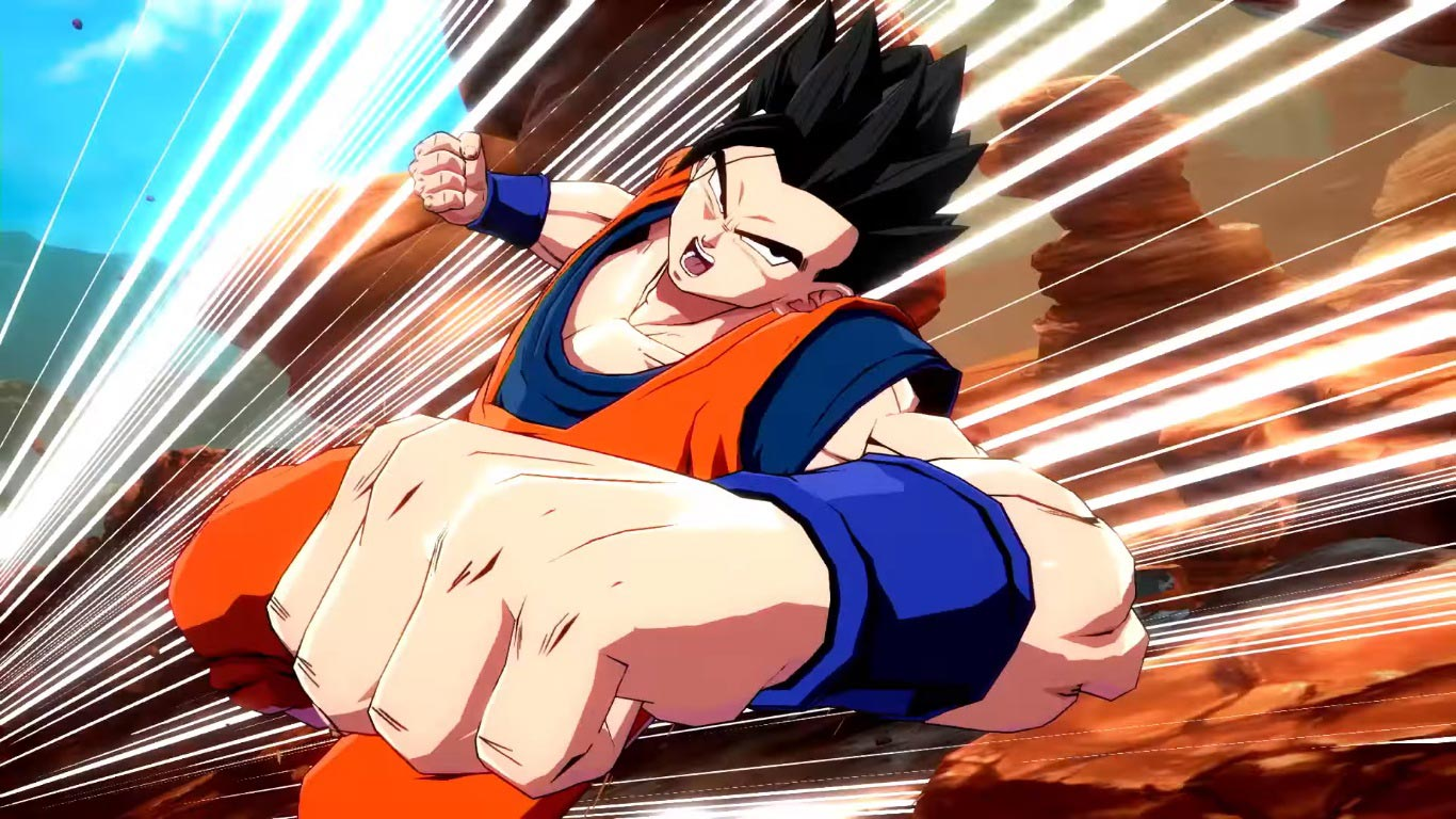 Adult Gohan in Dragon Ball FighterZ 4 out of 6 image gallery