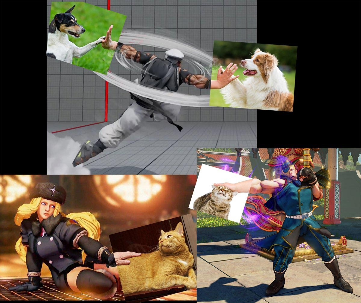 DemonDan14's fighting game-related dog memes 1 out of 10 image gallery