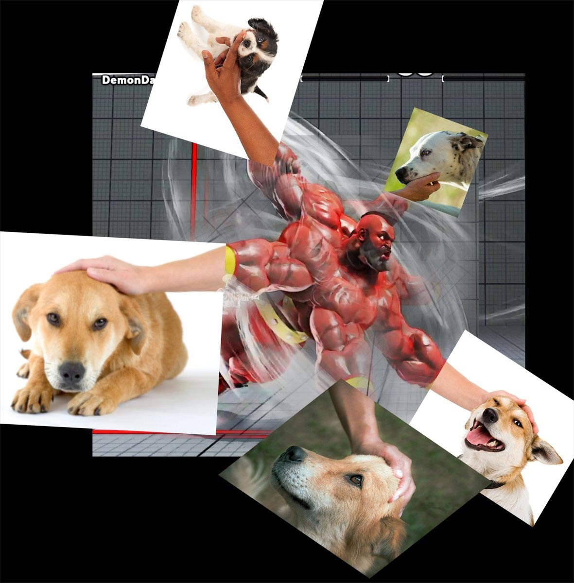 DemonDan14's fighting game-related dog memes 3 out of 10 image gallery