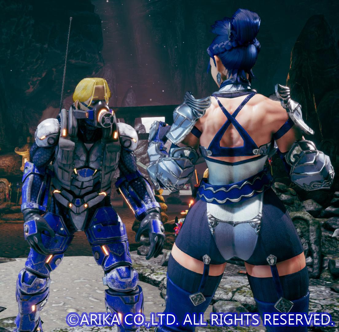 Another Blair teaser for Fighting EX Layer 1 out of 1 image gallery
