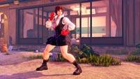 Street Fighter 5 Season 3 Sakura screenshots image #6