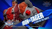 BlazBlue Cross Tag Battle - Iron Tager, Makoto, v-No.13, and Es image #1