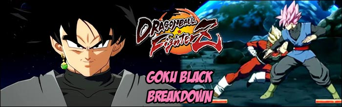 Goku Black Has A Divekick Teleport Overhead Full Screen Command