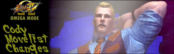 Cody Travers In The Omega Mode For Street Fighter 4 Had A Couple