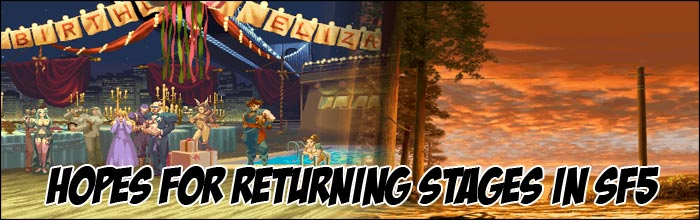Since Street Fighter 5 Is Bringing Classic Stages Back At A