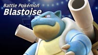 Aegislash and Blastoise in Pokkén Tournament DX image #6