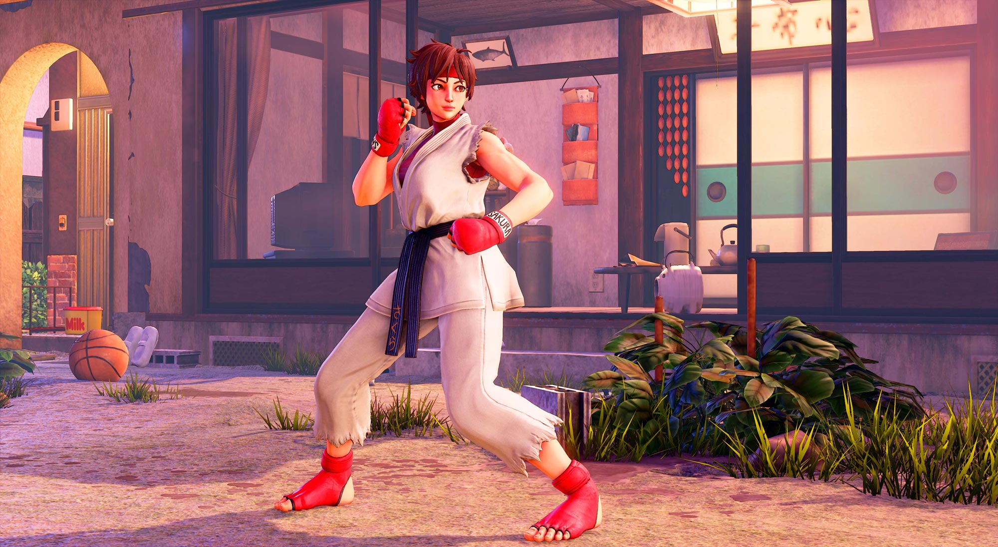 Sakura in Street Fighter 5 4 out of 7 image gallery