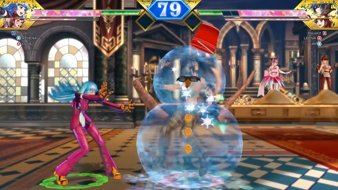 SNK Heroines Tag Team Frenzy screenshots 7 out of 9 image gallery
