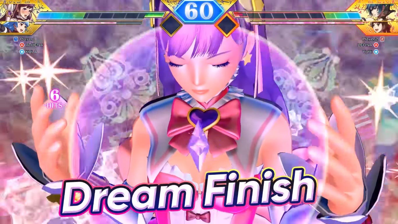 SNK Heroines Tag Team Frenzy screenshots 8 out of 9 image gallery