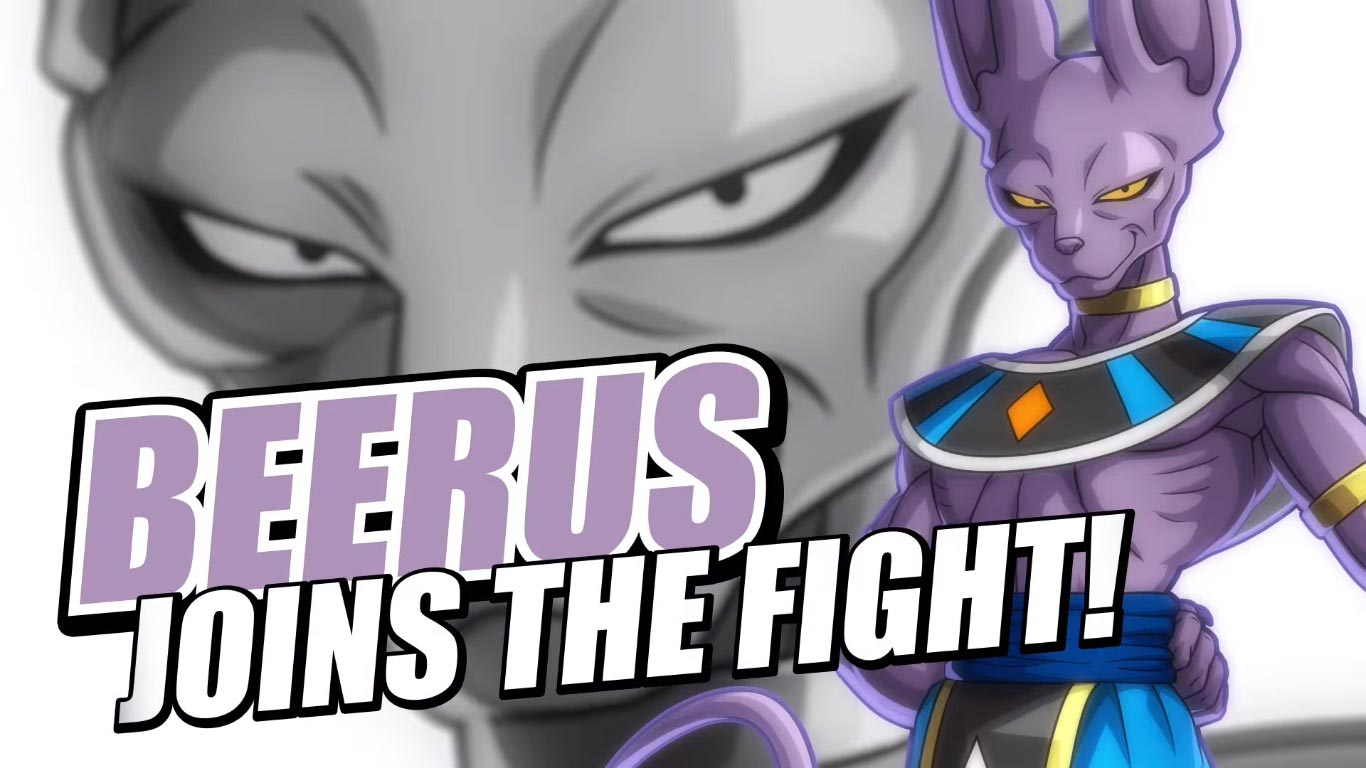 Beerus in Dragon Ball FighterZ 2 out of 6 image gallery