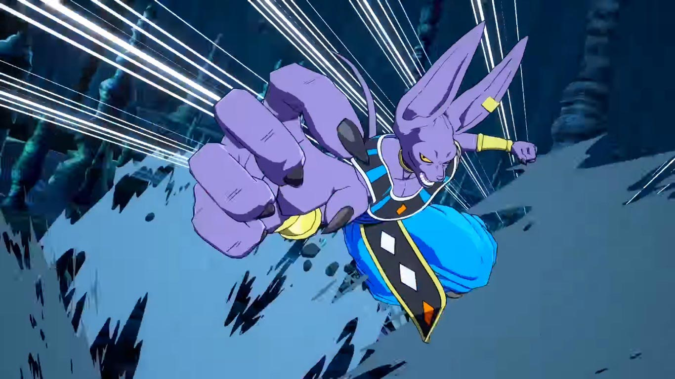 Beerus in Dragon Ball FighterZ 3 out of 6 image gallery
