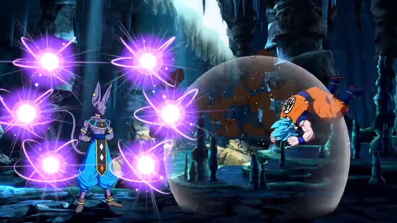Beerus in Dragon Ball FighterZ 4 out of 6 image gallery