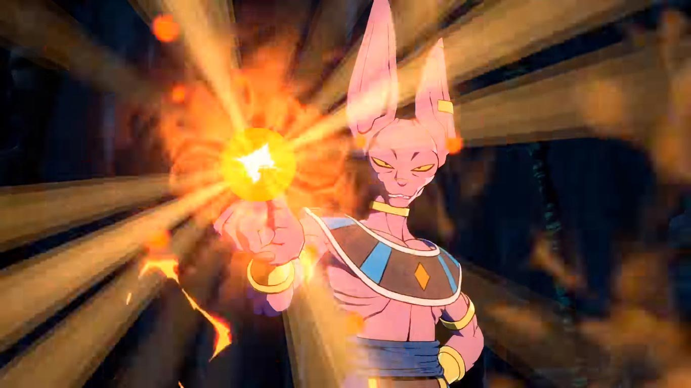 Beerus in Dragon Ball FighterZ 6 out of 6 image gallery