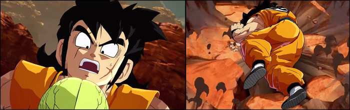 yamcha has a special death animation easter egg in dragon ball fighterz