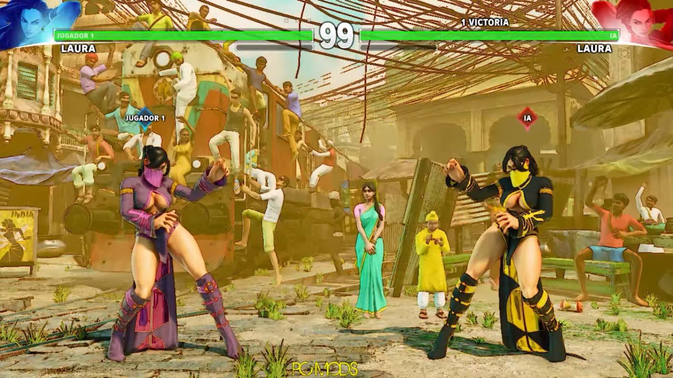 Street Fighter 5 and Arcade Edition PC mods 8 out of 15 image gallery