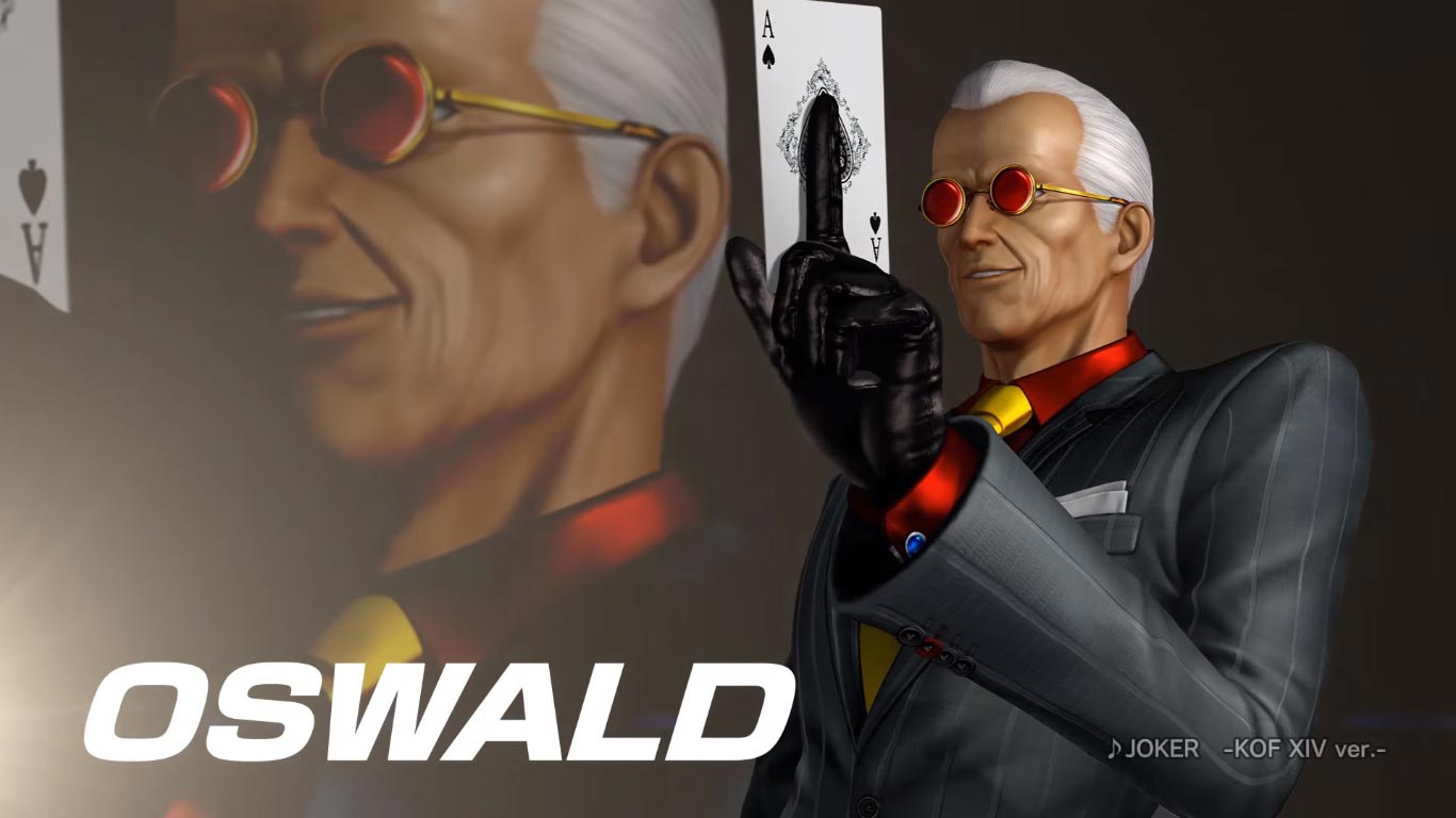 Oswald in King of Fighters 14 1 out of 6 image gallery