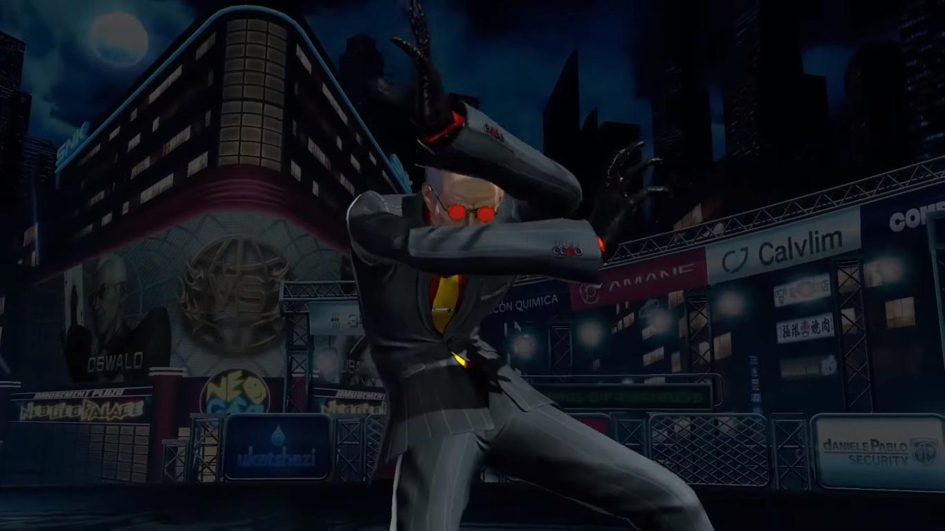 Oswald in King of Fighters 14 5 out of 6 image gallery