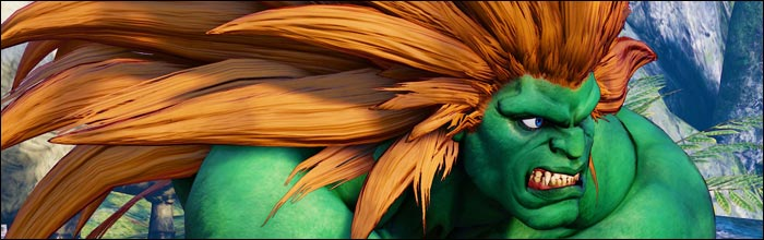 Blanka Comes To Street Fighter 5 Arcade Edition February 20th