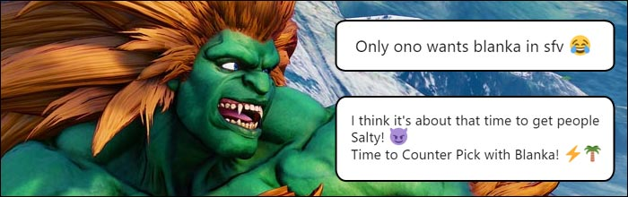 fcc169d13 The fighting game community reacts to Blanka in Street Fighter 5: Arcade  Edition