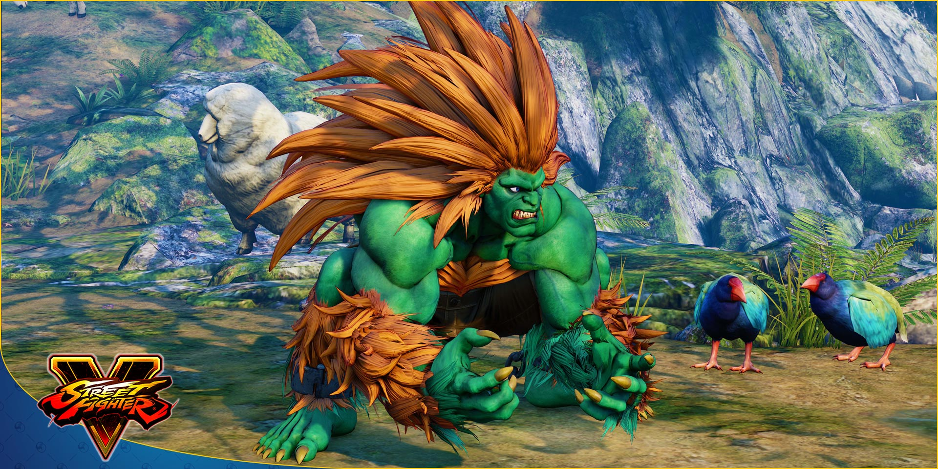 Blanka in Street Fighter 5: Arcade Edition 1 out of 11 image gallery