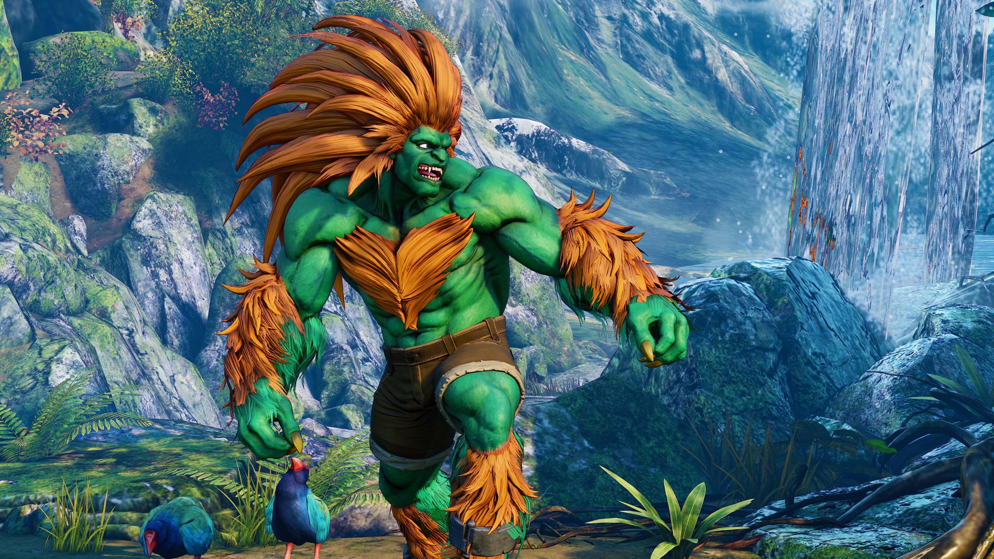 Blanka in Street Fighter 5: Arcade Edition 2 out of 11 image gallery