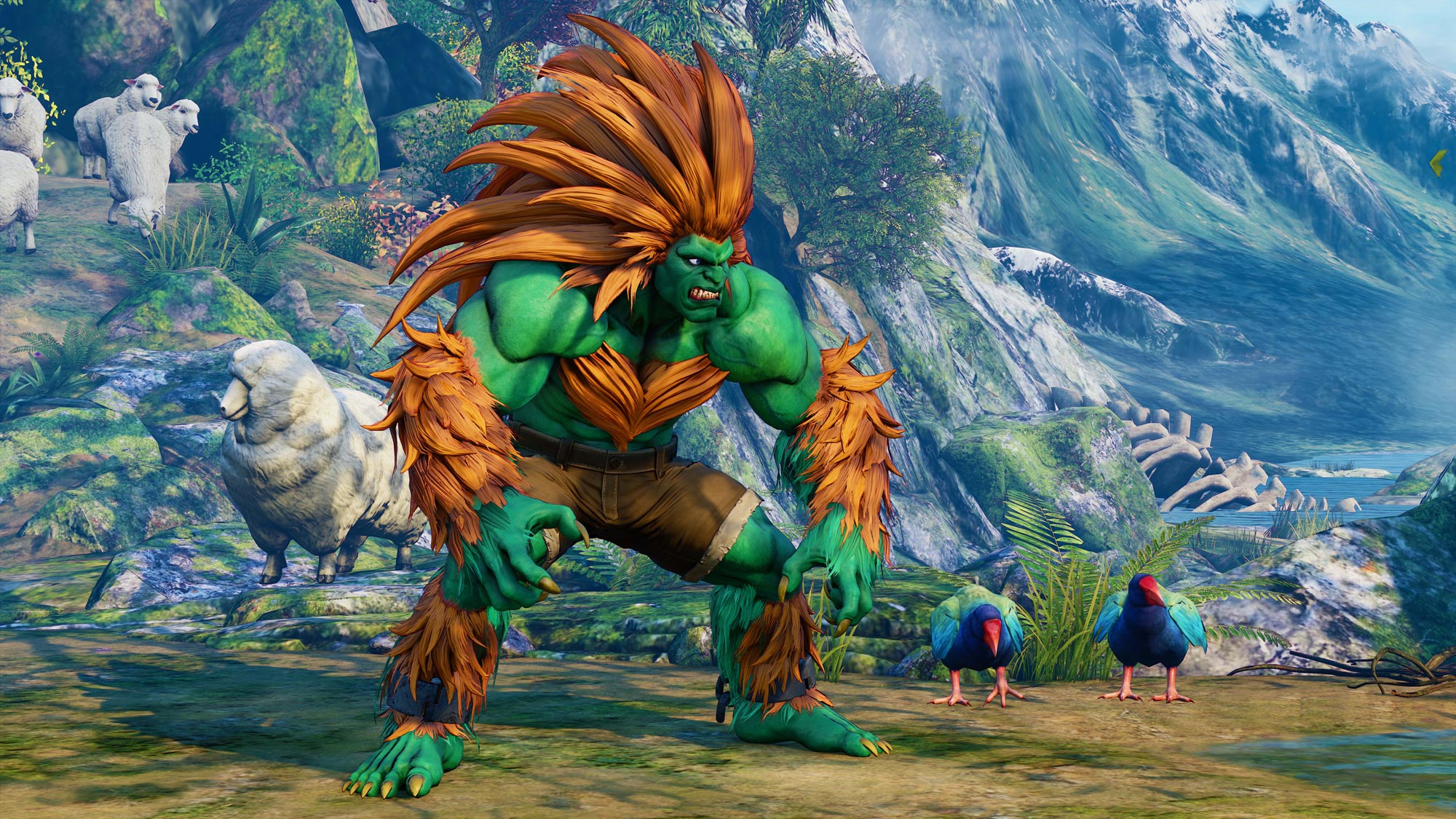 Blanka in Street Fighter 5: Arcade Edition 3 out of 11 image gallery