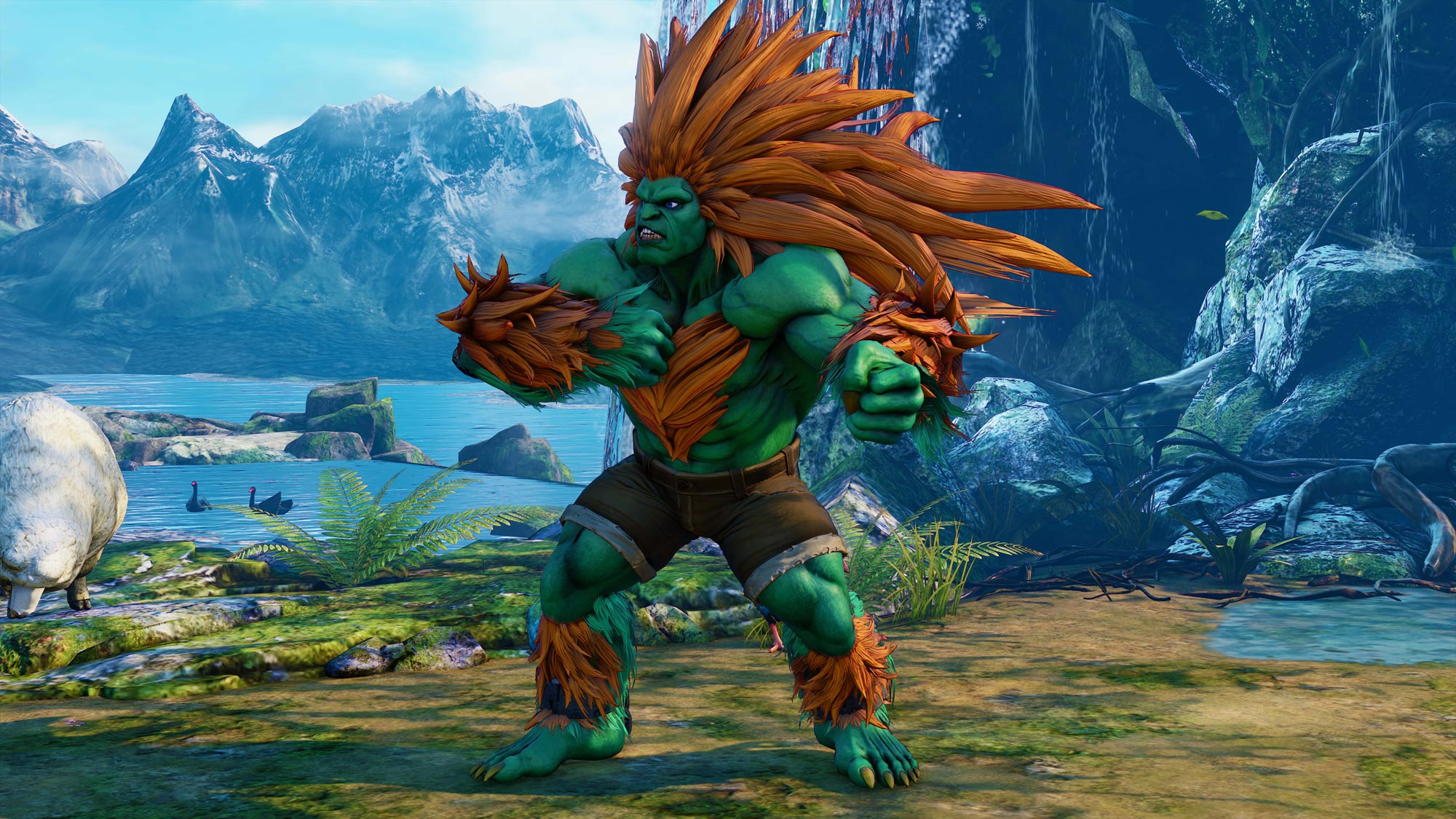 Blanka in Street Fighter 5: Arcade Edition 4 out of 11 image gallery