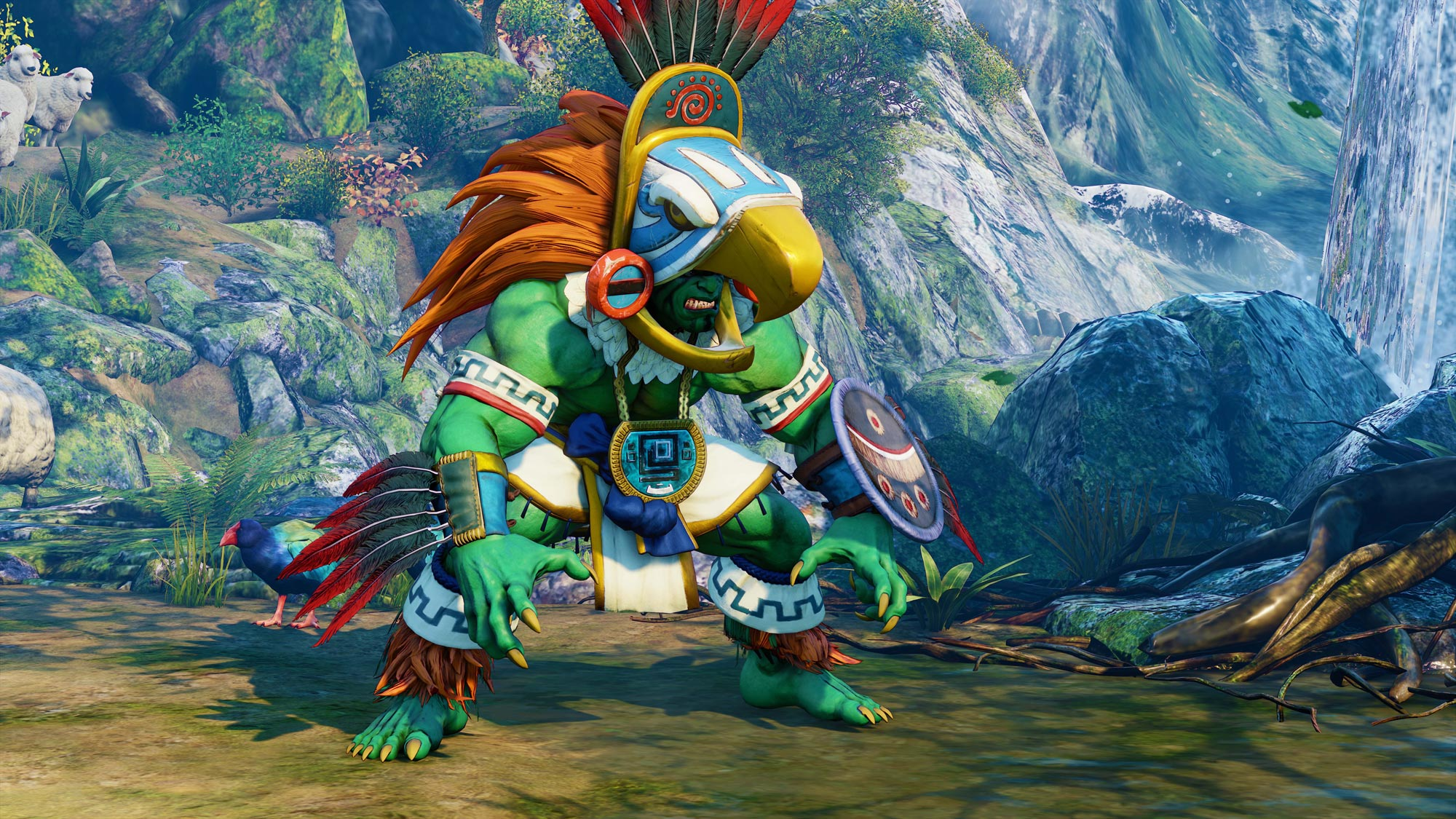 Blanka in Street Fighter 5: Arcade Edition 6 out of 11 image gallery