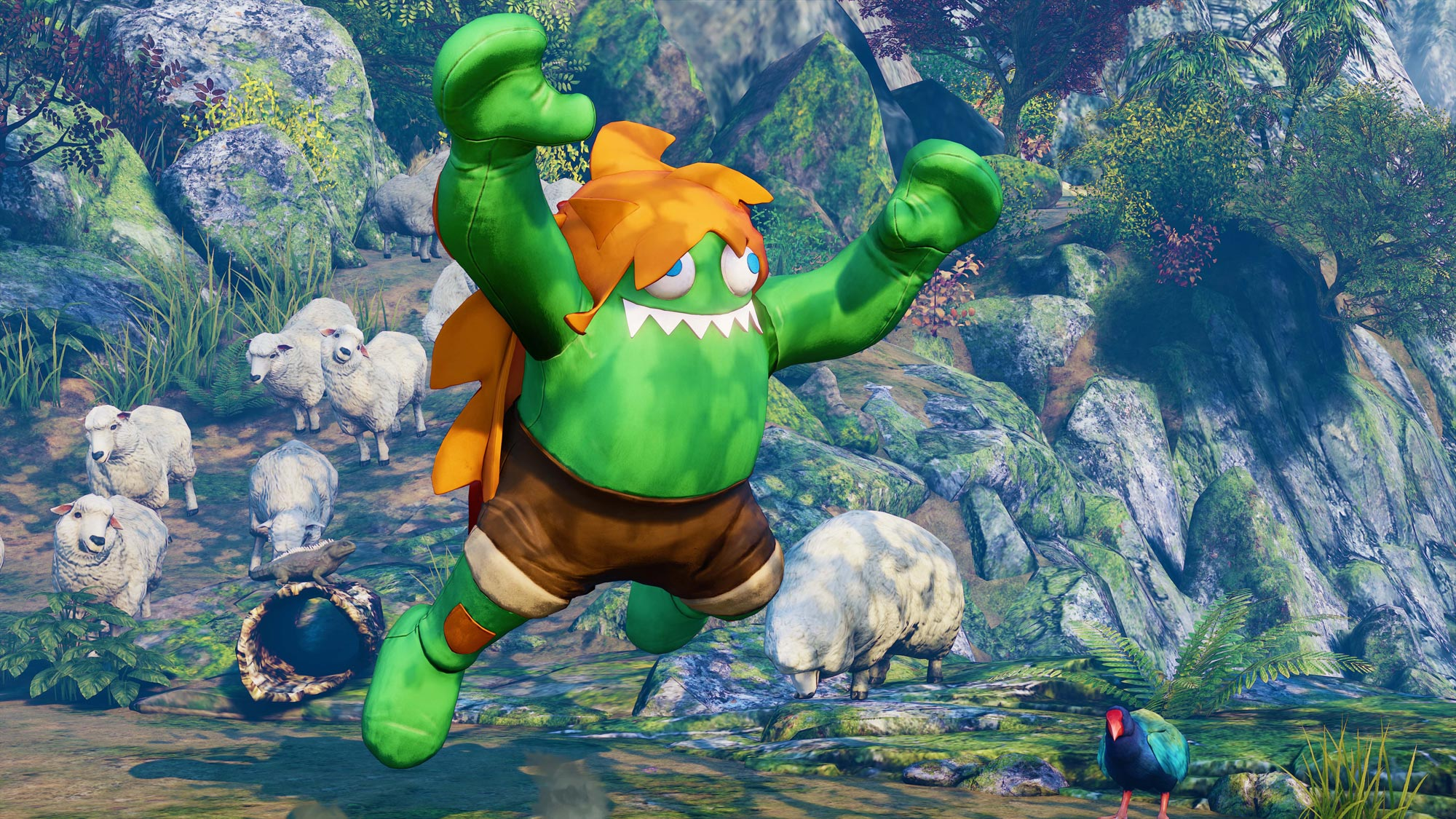Blanka in Street Fighter 5: Arcade Edition 7 out of 11 image gallery