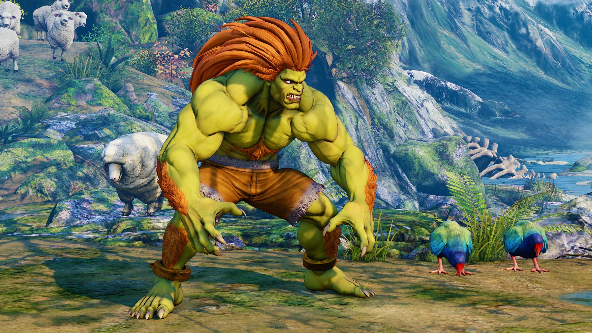 Blanka in Street Fighter 5: Arcade Edition 8 out of 11 image gallery