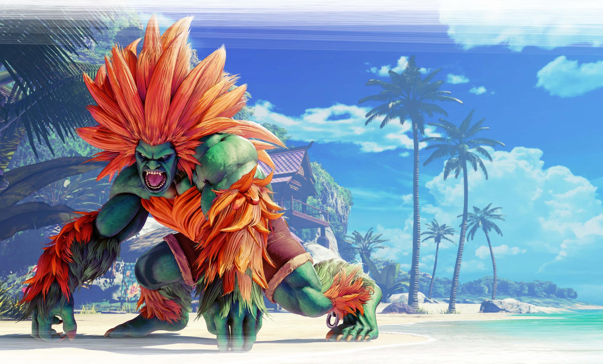 Blanka in Street Fighter 5: Arcade Edition 9 out of 11 image gallery