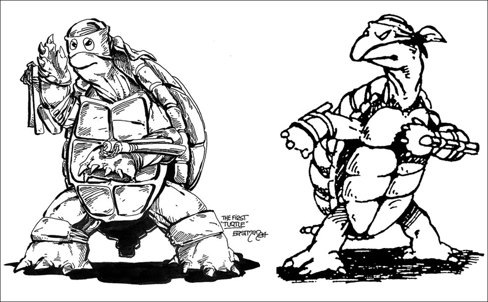 TMNT Concept Art 1 out of 4 image gallery