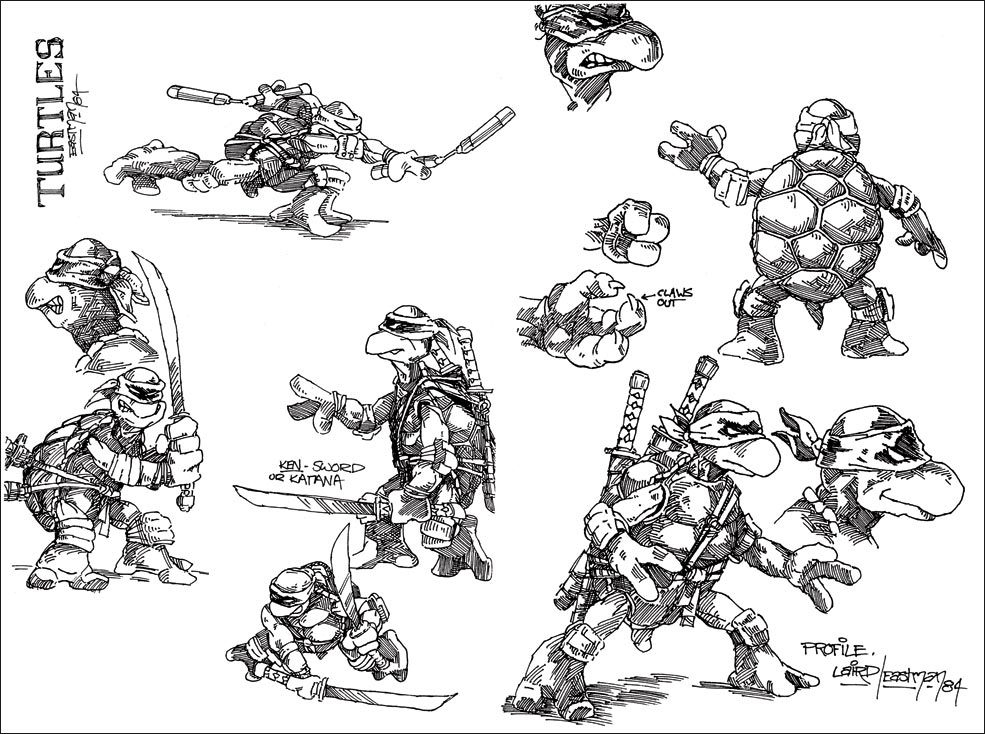 TMNT Concept Art 2 out of 4 image gallery