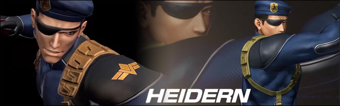 Heidern revealed as King of Fighters 14's next DLC character