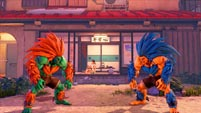 Blanka colors and costumes in Street Fighter 5: Arcade Edition image #1