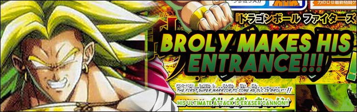New Broly scan appears in Shonen Jump for Dragon Ball FighterZ
