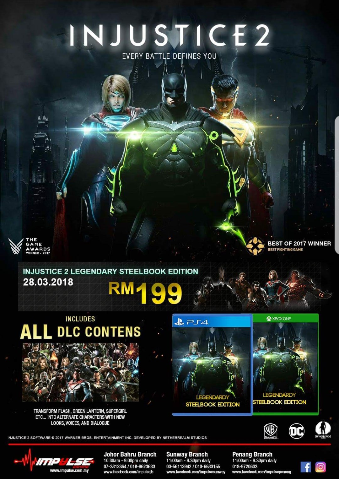 Injustice 2 Legendary Edition 1 out of 1 image gallery