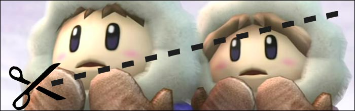 the ice climbers were originally cut from super smash bros 4 due to limitations of the nintendo 3ds. Black Bedroom Furniture Sets. Home Design Ideas