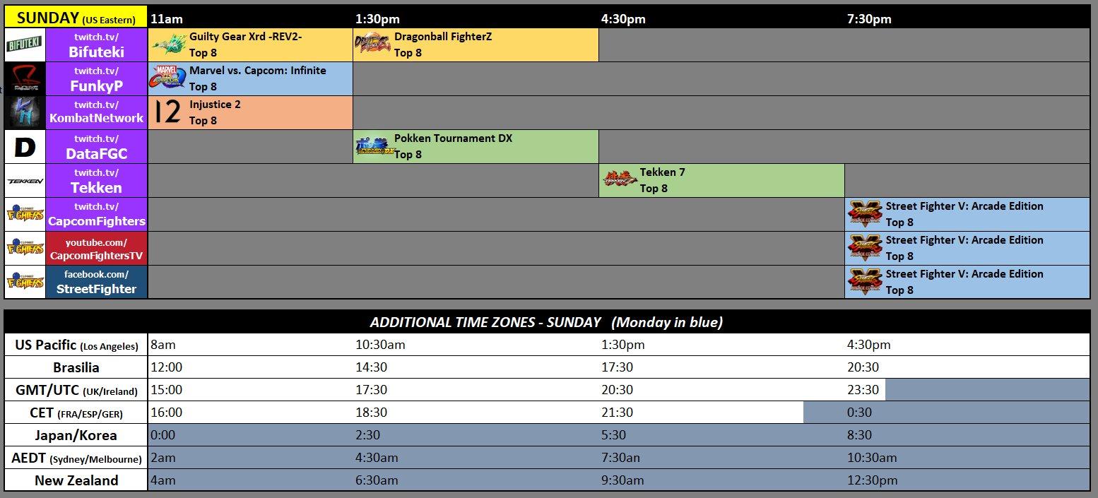 Final Round 2018 Event Schedule 3 out of 3 image gallery