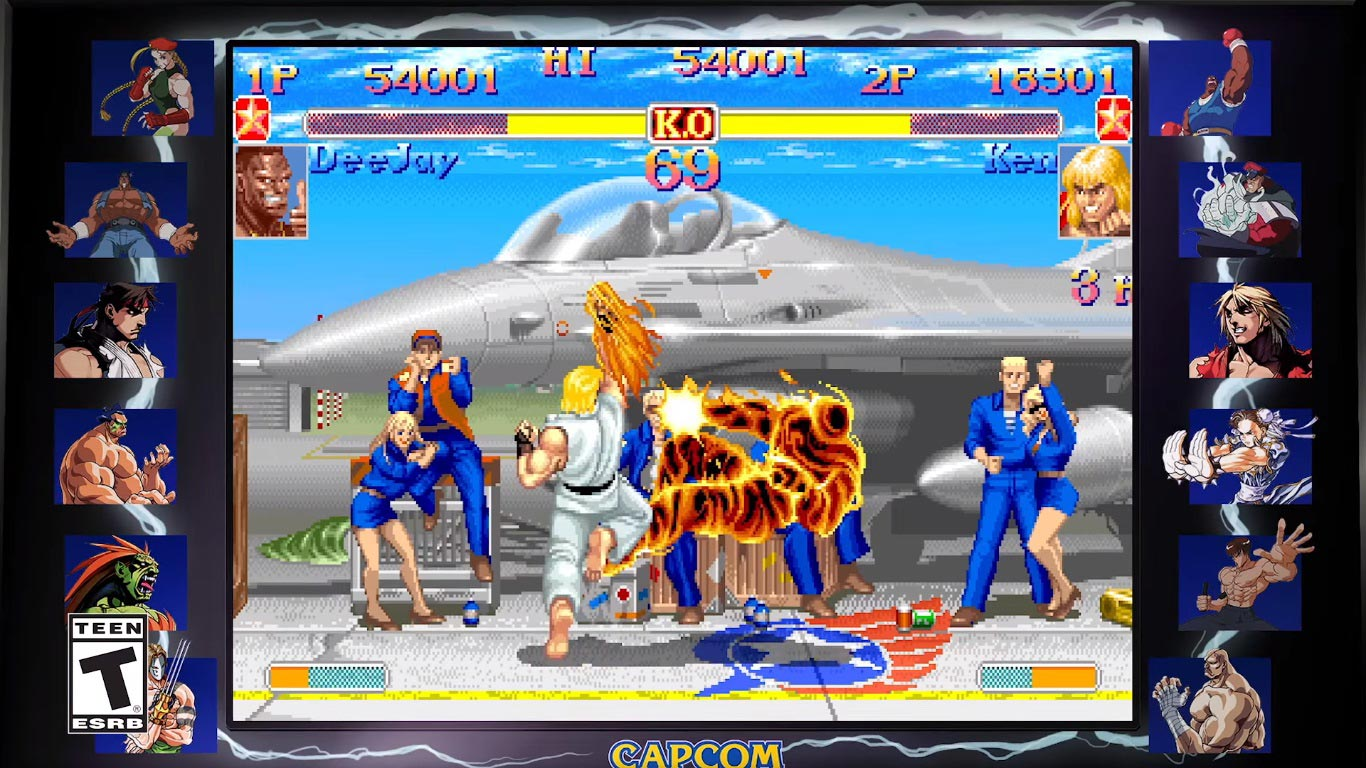 Street Fighter 30th Anniversary Collection screenshots 3 out of 6 image gallery