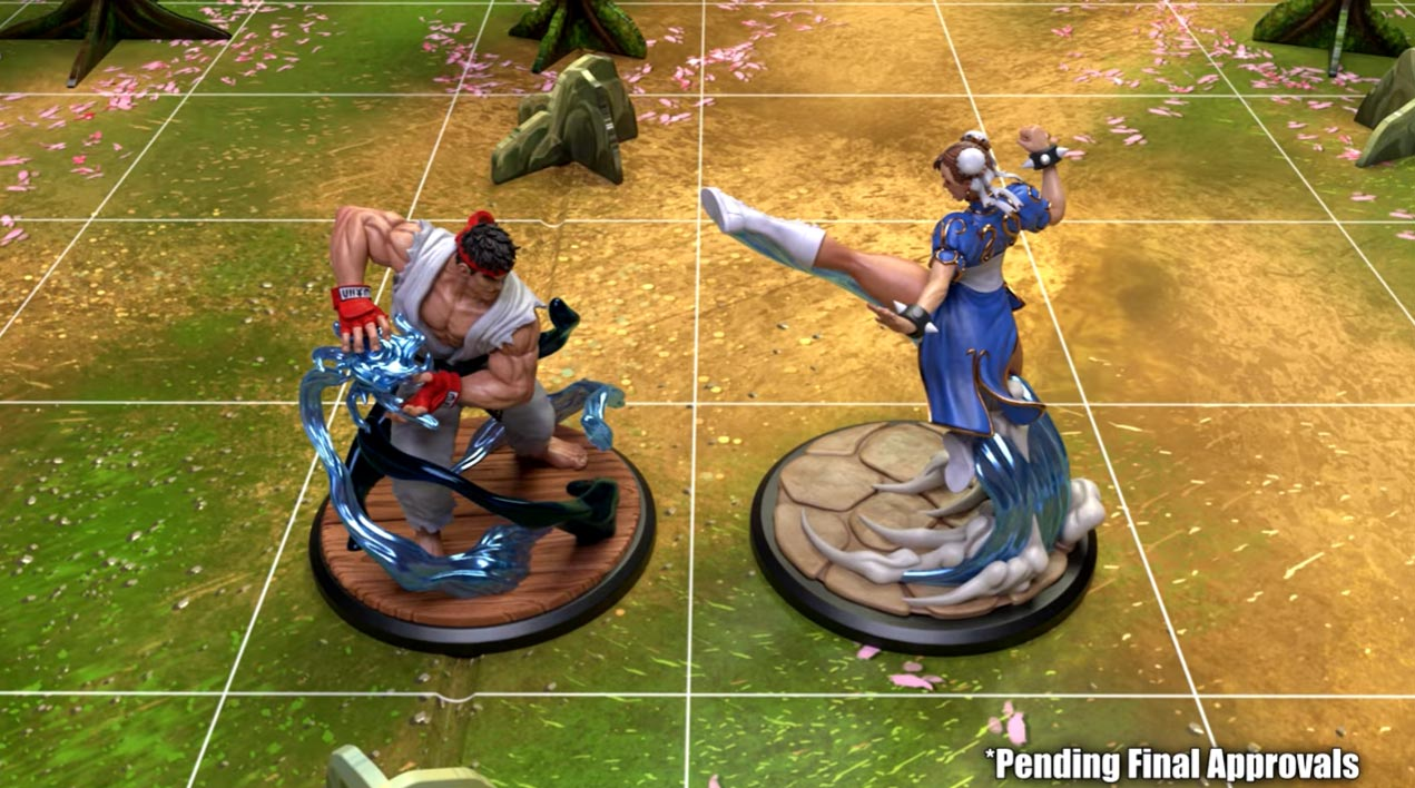 Street Fighter: The Miniatures 1 out of 9 image gallery