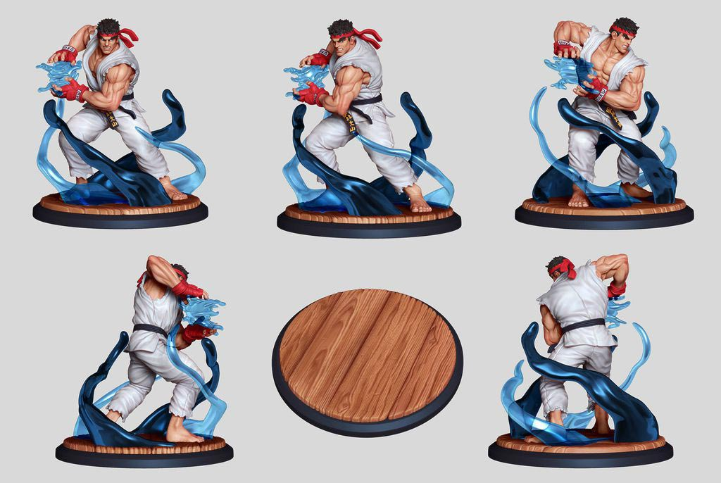 Street Fighter: The Miniatures 3 out of 9 image gallery