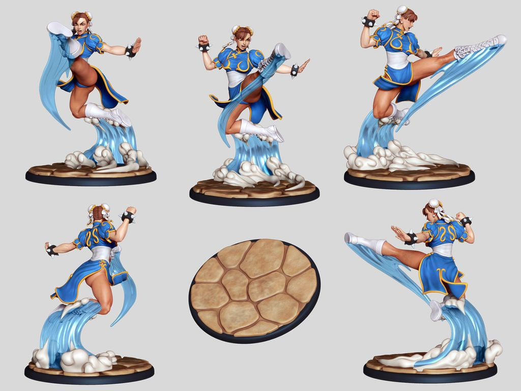 Street Fighter: The Miniatures 4 out of 9 image gallery