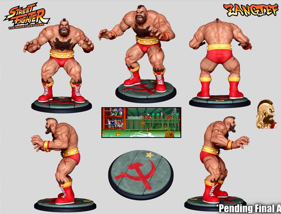 Street Fighter: The Miniatures 5 out of 9 image gallery